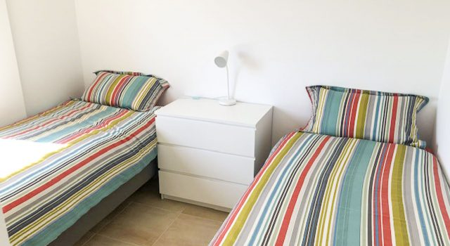 Eve - bedroom with single beds