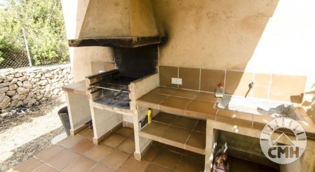 Finca Sa Plana - BBQ Fireplace