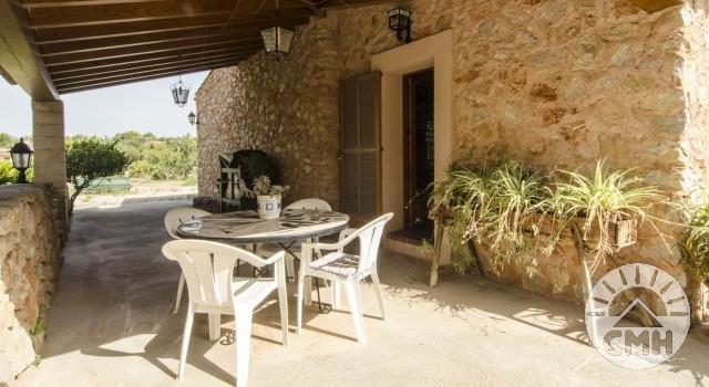 Finca Sa Plana - Dining Room Terrace