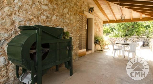 Finca Sa Plana - Dining Room Terrace Indoor
