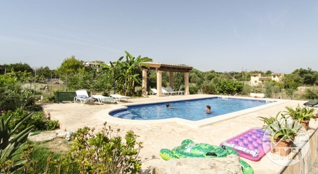 Finca Sa Plana - Pool View