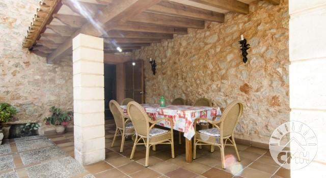 Finca Sa Plana - Terrace Table