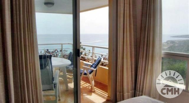 Marina Park - bedroom 1 with sea view