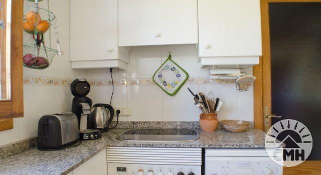 Villa Floriana - Küche mit Herd