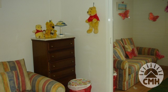 Villa Julie - bedroom 3 with bunk bed