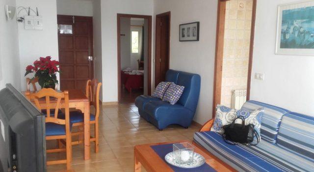 Villa Margarita 1 bedroom - living room with dining area