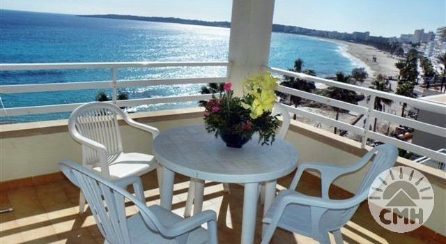 Villa Margarita 2 bedroom - balcony with sea view