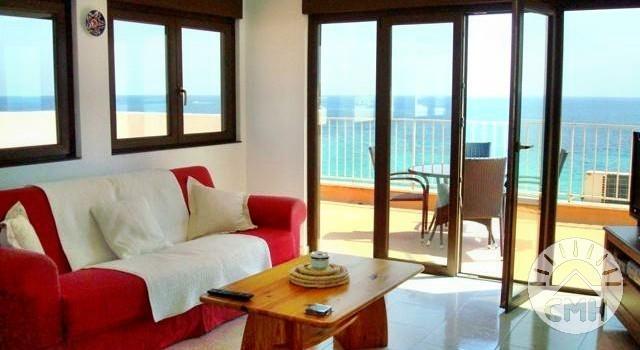 Playa Verde - Livingroom with terrace